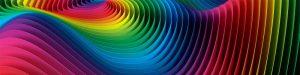 gama de color en ondas