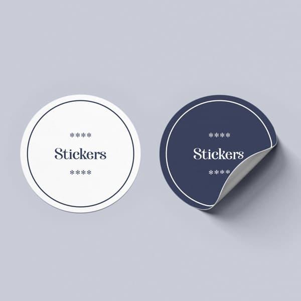etiquetas y stickers en Vigo